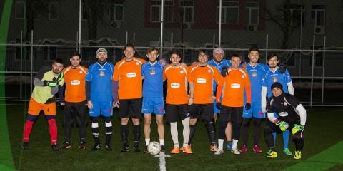 Campionatul de minifotbal Portocala Hidraulica - FPAR 01